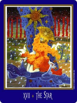 The Star Tarot Card - New Century Tarot Deck