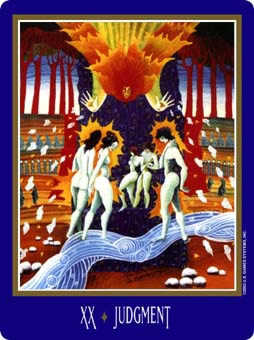 The Judgment Tarot Card - New Century Tarot Deck