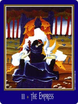 The Empress Tarot Card - New Century Tarot Deck