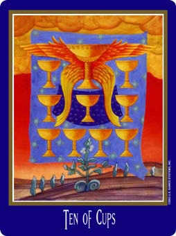 Ten of Cups Tarot Card - New Century Tarot Deck
