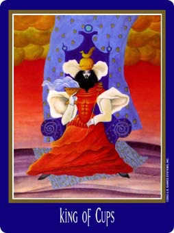 King of Cups Tarot Card - New Century Tarot Deck
