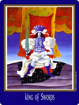 King of Spades Tarot Card - New Century Tarot Deck