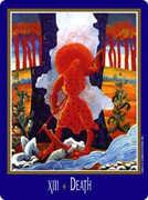 Death Tarot card in New Century deck