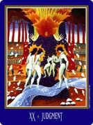 Judgement Tarot card in New Century deck