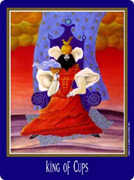 King of Cups Tarot card in New Century deck