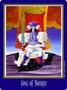 King of Swords Tarot card in New Century deck