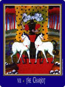 The Chariot Tarot card in New Century deck