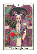 The Magician Tarot card in New Chapter deck