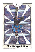 The Hanged Man Tarot card in New Chapter deck