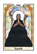 Death Tarot card in New Chapter deck