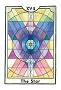 The Star Tarot card in New Chapter deck