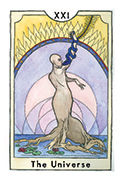 The World Tarot card in New Chapter deck