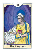 The Empress Tarot card in New Chapter deck