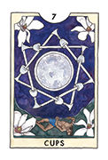 Seven of Cups Tarot card in New Chapter deck