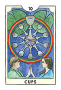 Ten of Cups Tarot card in New Chapter deck