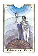 Page of Cups Tarot card in New Chapter deck