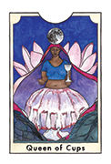 Queen of Cups Tarot card in New Chapter deck