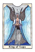 King of Cups Tarot card in New Chapter deck