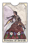 Page of Swords Tarot card in New Chapter deck