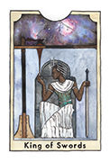 King of Swords Tarot card in New Chapter deck