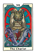 The Chariot Tarot card in New Chapter deck