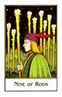 new-palladini-tarot - Nine of Rods