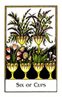 new-palladini-tarot - Six of Cups