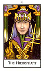 new-palladini-tarot - The Hierophant