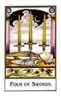new-palladini-tarot - Four of Swords