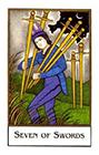 new-palladini-tarot - Seven of Swords