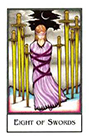 new-palladini-tarot - Eight of Swords