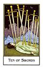 new-palladini-tarot - Ten of Swords