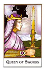 new-palladini-tarot - Queen of Swords