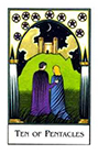 new-palladini-tarot - Ten of Pentacles