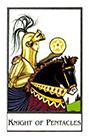 new-palladini-tarot - Knight of Pentacles