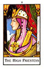 new-palladini-tarot - The High Priestess