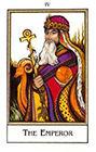 new-palladini-tarot - The Emperor