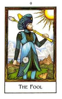 The Fool Tarot Card - The New Palladini Tarot Deck