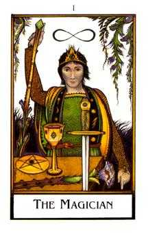 The Magus Tarot Card - The New Palladini Tarot Deck