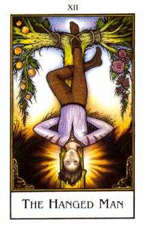 The Hanged Man Tarot Card - The New Palladini Tarot Deck