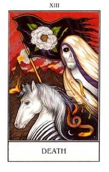 Death Tarot Card - The New Palladini Tarot Deck