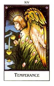 Temperance Tarot Card - The New Palladini Tarot Deck