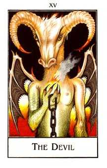 Temptation Tarot Card - The New Palladini Tarot Deck