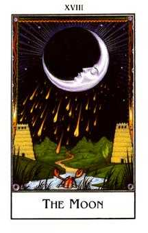 The Moon Tarot Card - The New Palladini Tarot Deck