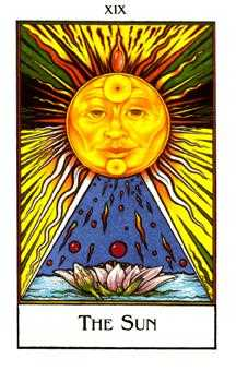 The Sun Tarot Card - The New Palladini Tarot Deck