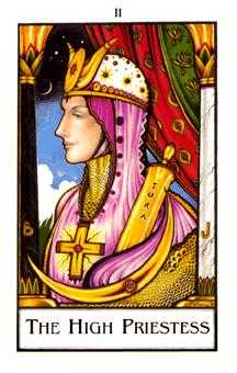 The High Priestess Tarot Card - The New Palladini Tarot Deck