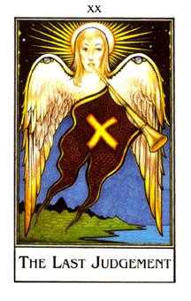 The Judgment Tarot Card - The New Palladini Tarot Deck
