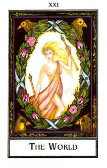 The World Tarot Card - The New Palladini Tarot Deck