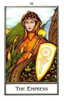 The Empress Tarot Card - The New Palladini Tarot Deck