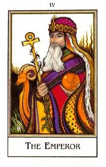 The Emperor Tarot Card - The New Palladini Tarot Deck